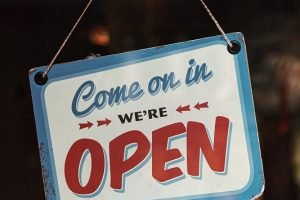 COVID-19 AND WE ARE OPEN AGAIN!!